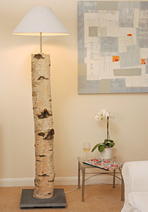 coast lamps With silver birch floor lamp